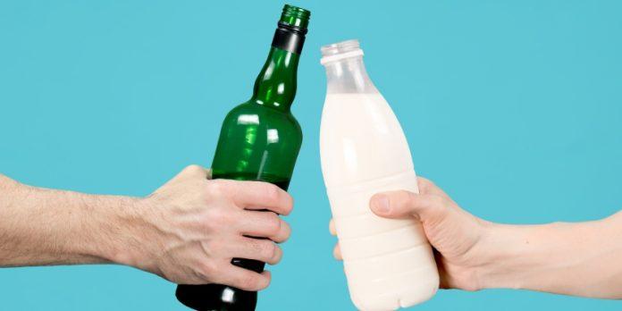 La leche se corta