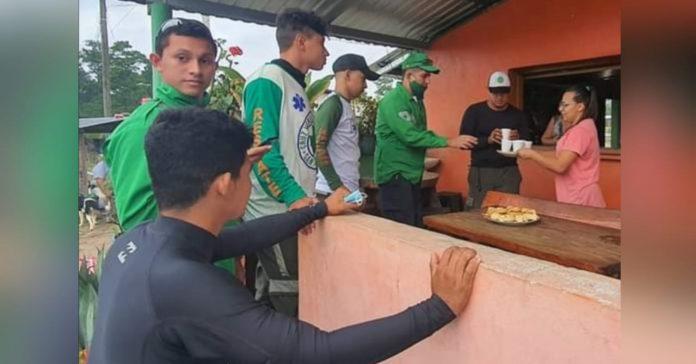 Cruz Verde Salvadoreña Honduras Eta