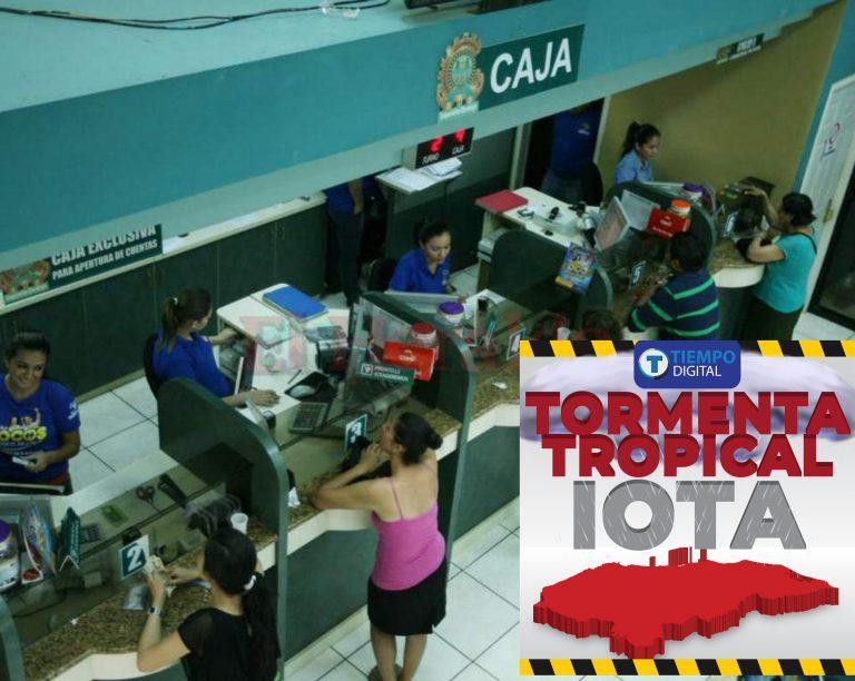 Tormenta tropical Iota: ¿Cuáles son los horarios de los bancos este martes?