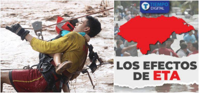 Héroes en Eta: José, el bombero que no percibe un salario por su labor