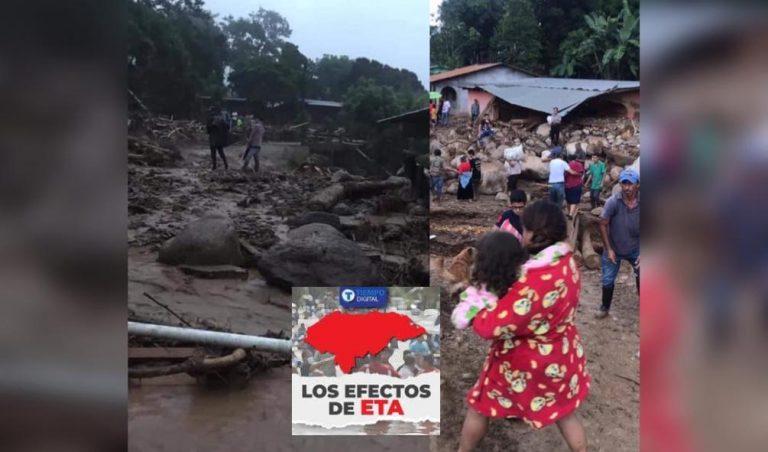 «COPECO solo vino a supervisar»: la aldea de San José de Oriente clama ayuda