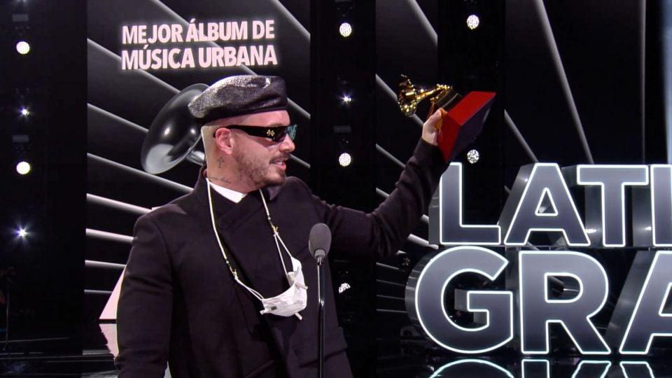 J Balvin Grammy Iota