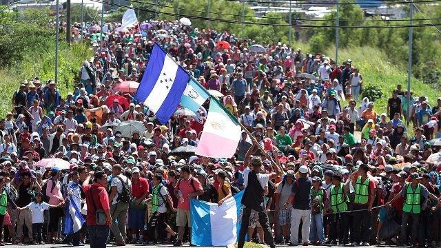 caravana masiva Eta Centroamérica