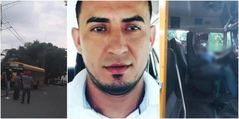La Ceiba: matan a conductor de bus mientras trabajaba; tenía 29 años