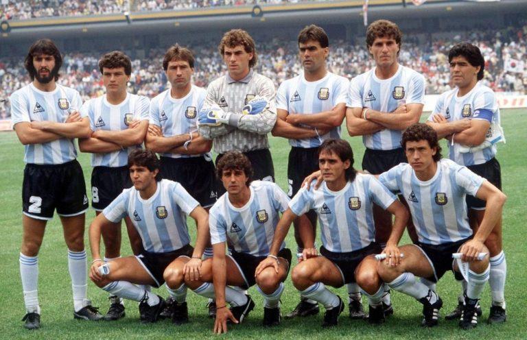 Los campeones mundiales de Argentina en el 86 que ya no están