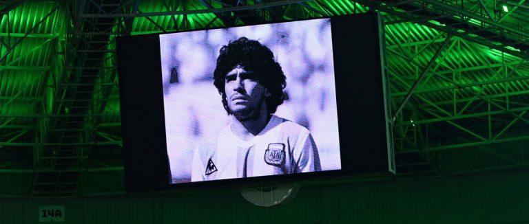 Así fue el homenaje a Maradona en la jornada de Champions este miércoles