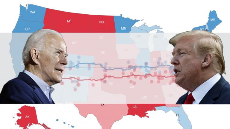 Trump vs Biden: ¿Quién va ganando la carrera por la presidencia de EEUU?