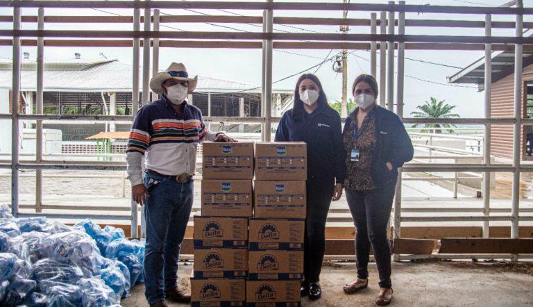 ¡Comprometidos con Honduras! Lacthosa brinda apoyo a colaboradores afectados por Eta