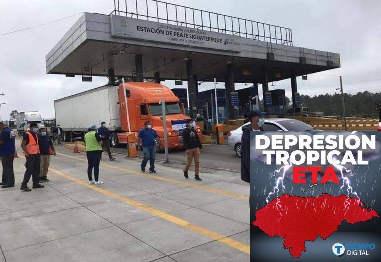 Aduanas: Ayudas o donaciones deben venir consignadas a nombre de COPECO