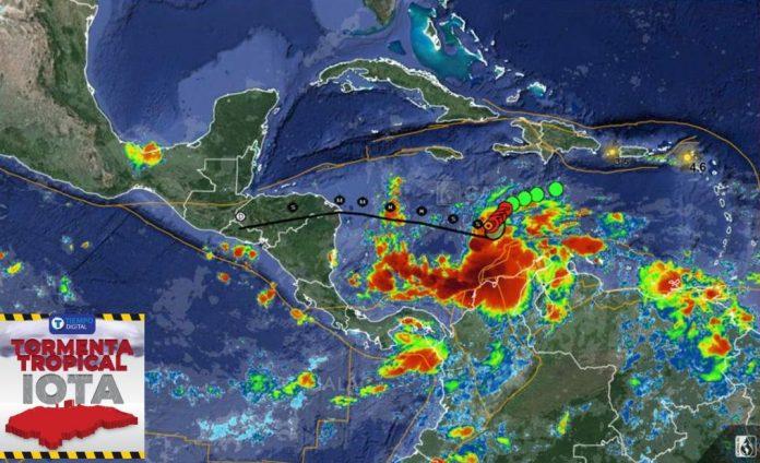 Científicos advierten Iota Honduras