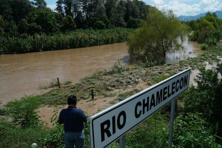 COPECO: Crecida de dos metros en el río Chamelecón impactará al Valle de Sula
