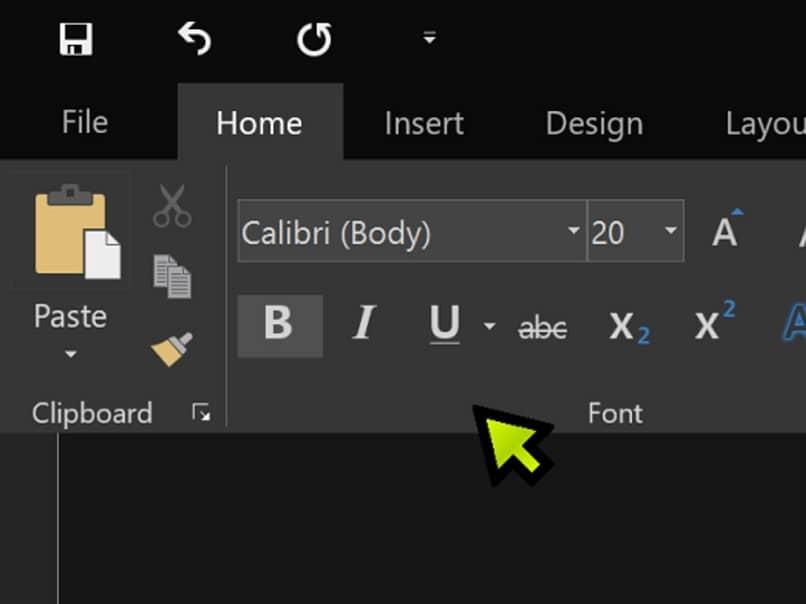 modo oscuro Microsoft Word