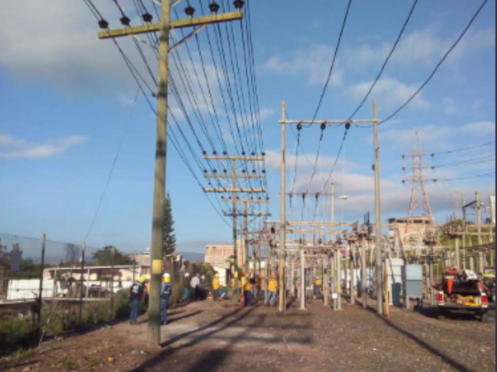 cortes de energía Honduras sábado