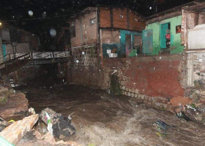 Tegucigalpa riesgo derrumbe
