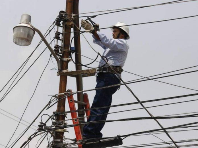 sábado cortes de energía Honduras