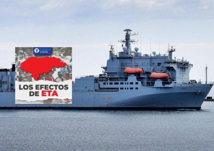 buque británico Honduras Eta