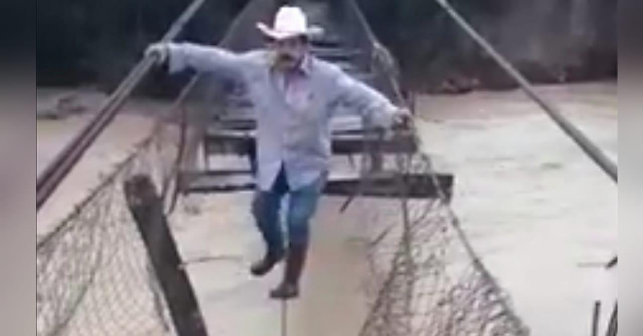 hondureño cruza río viral