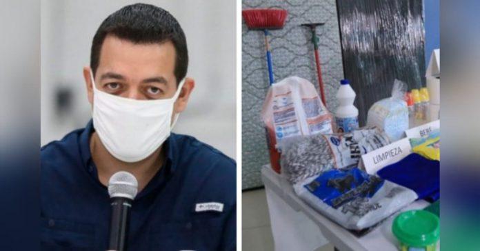 Madero transparencia kits Gobierno Honduras