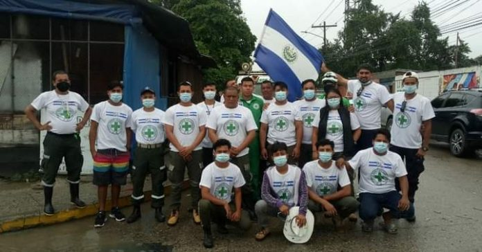 Cruz Verde salvadoreña Honduras
