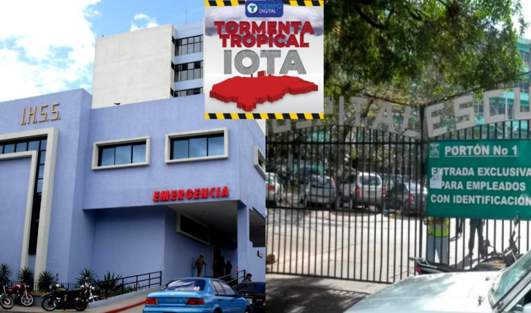 IHSS y Hospital Escuela emiten horarios de atención, ante emergencia por Iota