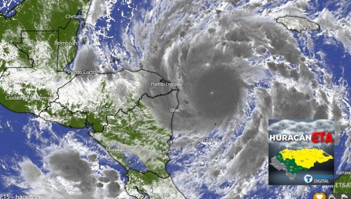 huracán eta honduras