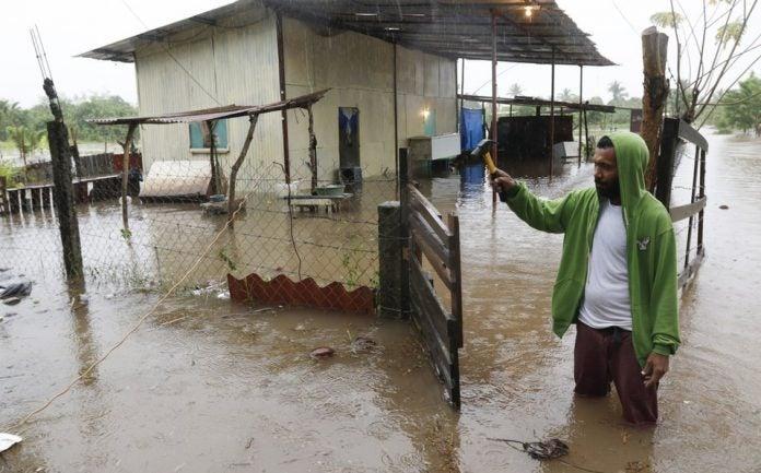 inundaciones y deslizamientos Iota