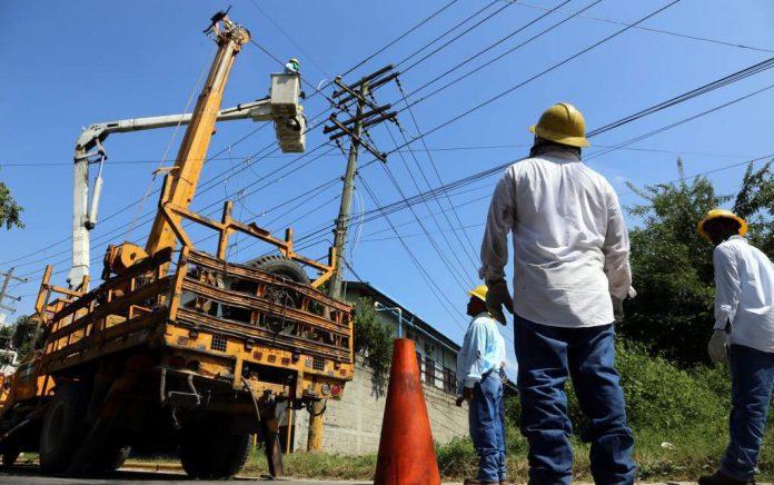 apagones cortes energía Honduras