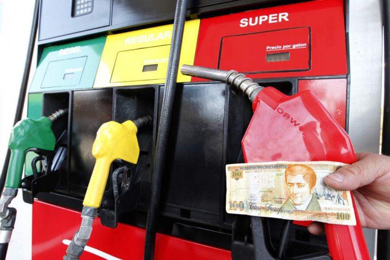 Una vez más bajan las gasolinas, pero diésel y LPG vehicular no ceden