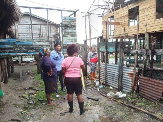 pueblo misquito en calamidad