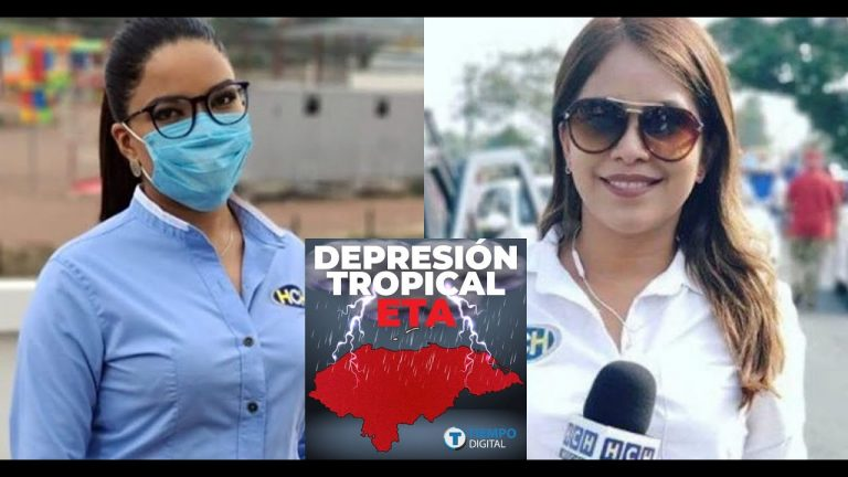 Ariela Cáceres y Suly Cálix rompen en llanto ante los estragos de Eta