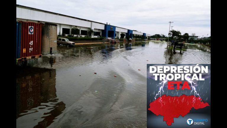 VÍDEO  Irreconocible: como un río quedan instalaciones de Gildan Choloma