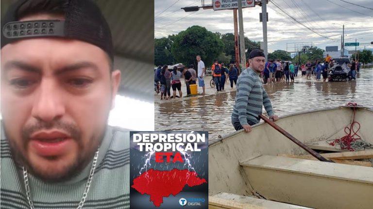"""""""Hay personas muertas flotando"""": el duro relato de un hondureño rescatista"""