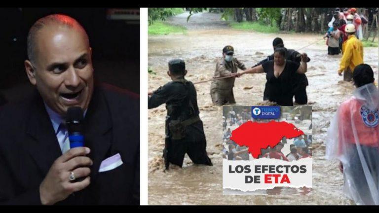 Pastor afirma que su iglesia salvó a TGU de Eta: ¿qué pasó con la zona norte?
