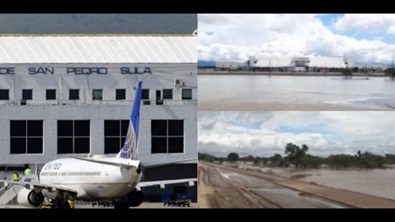 aeropuerto Villeda Morales inundado