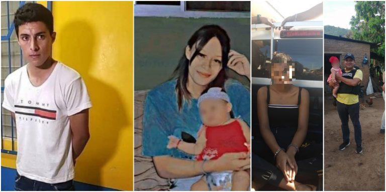 Macabro crimen en Cofradía: esposa del presunto asesino tenía a bebé de la víctima