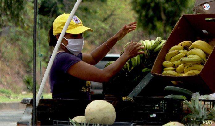 Caída económica centroamérica CEPAL