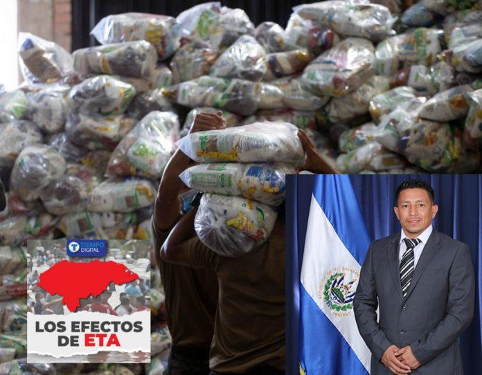 Ayuda diputado Salvadoreño