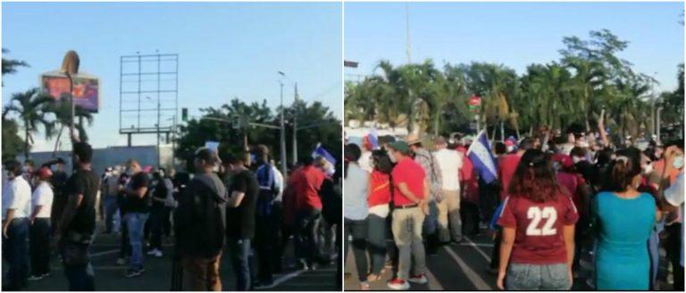 ¡Hasta con palas! Hondureños realizan protestas para exigir un «alto a la corrupción»
