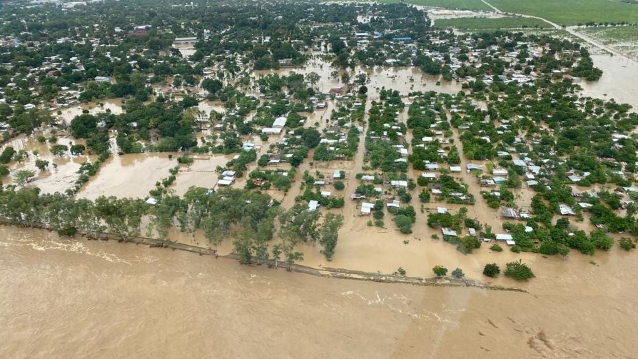 inundaciones en La Lima
