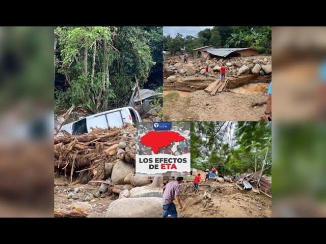 Eta: San José de Oriente, una aldea que quedó soterrada y en el olvido