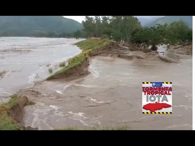 ¡ALERTA en La Lima! Río Chamelecón ya empieza a desbordarse