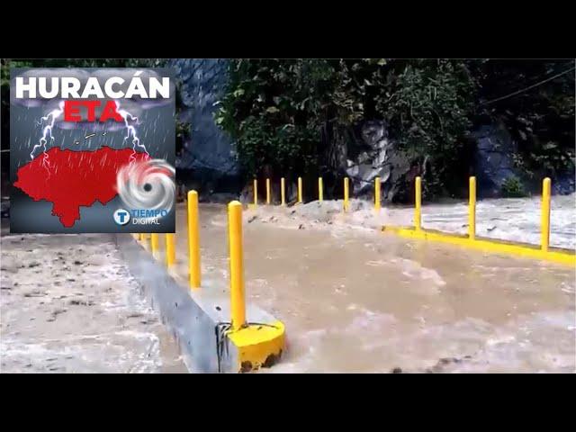 VĺDEO   «Terror» causa «Río Pelo» tras desbordarse en El Progreso
