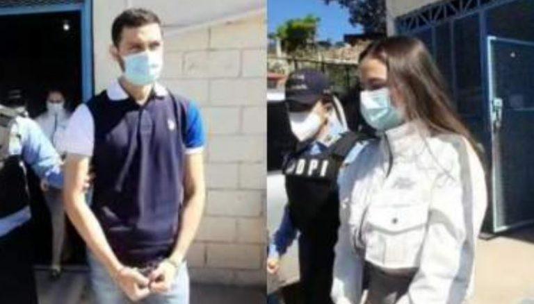 Comayagüela: arrestan a pareja acusada de intentar matar a estadounidense