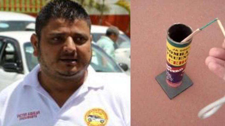 """Por salvar a sobrinos, presidente de ATAXISH pierde un dedo tras explosión de una """"cebolla"""""""