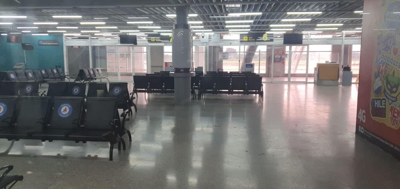 Aeropuerto SPS operatividad