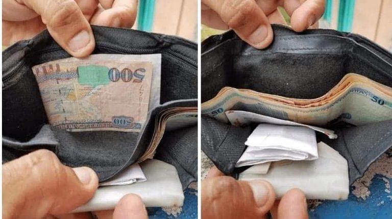 ¡Ejemplar! Vendedor de frutas encuentra y devuelve billetera con dinero a su dueño