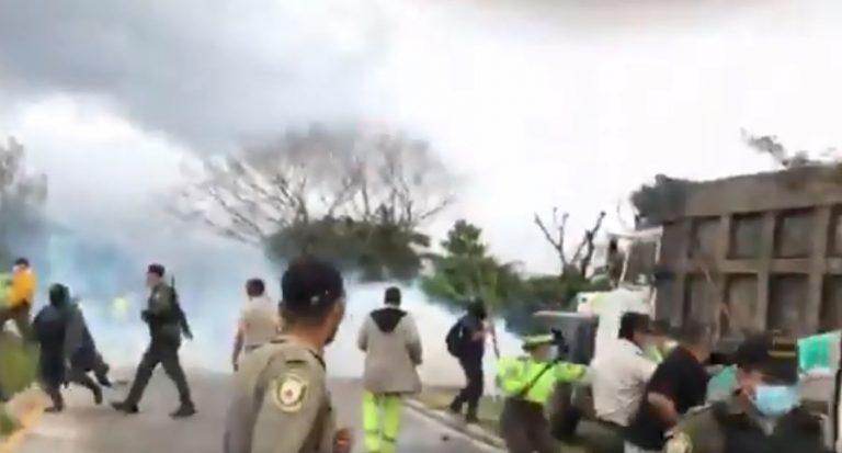 Lavadores de carros se toman bulevar del Norte tras intento de desalojo