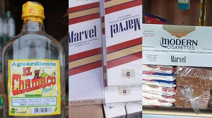 Contrabando: marcas de alcohol y cigarrillos que pueden causar la muerte en Navidad