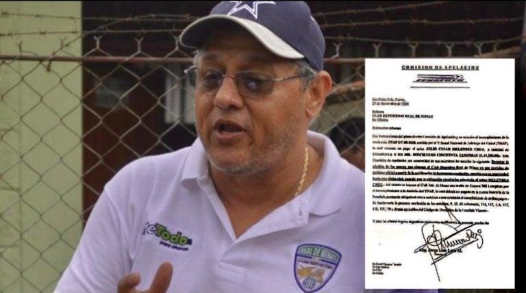 """Gerardo Martínez ante resolución de TNAF: """"Estoy dispuesto a pagar ya"""""""