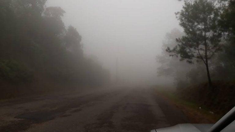 Frente frío dejó a La Esperanza, Intibucá, con temperaturas de hasta 9 grados